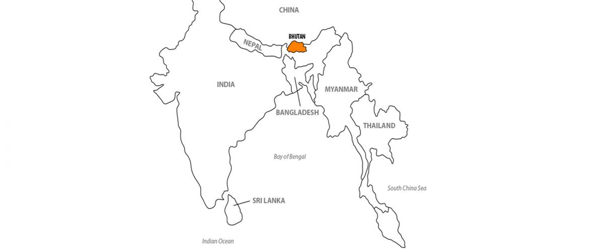 Location of Bhutan | Tourism Council of Bhutan
